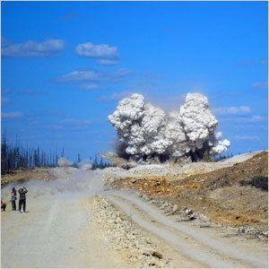 Взрывы в Якутии