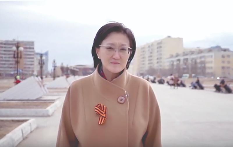 Уважаемые жители города Якутска! Дорогие участники Великой Отечественной войны, ветераны войны и тыла, дети войны!