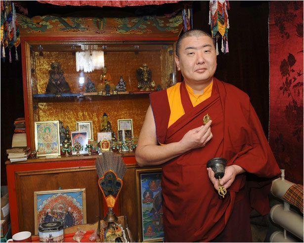 Буддисты Якутии встречают Новый год
