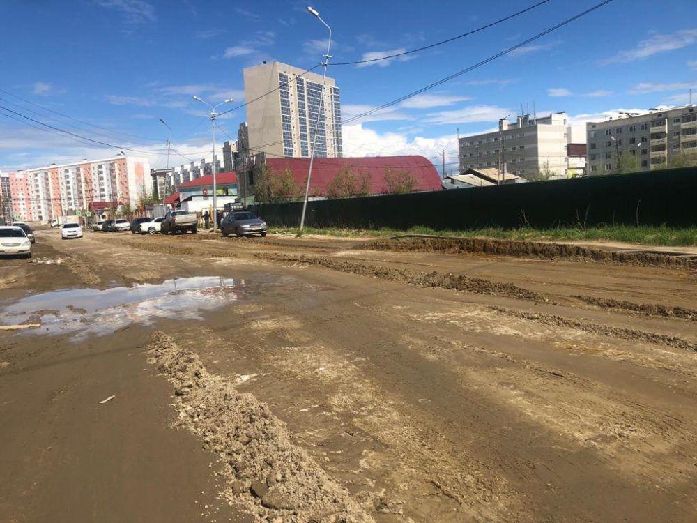 Сколько улиц отсыпали управы округов и пригородов Якутска