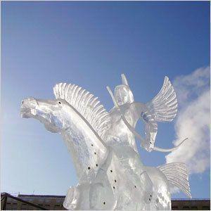 В марте стартует конкурс ледовых скульптур
