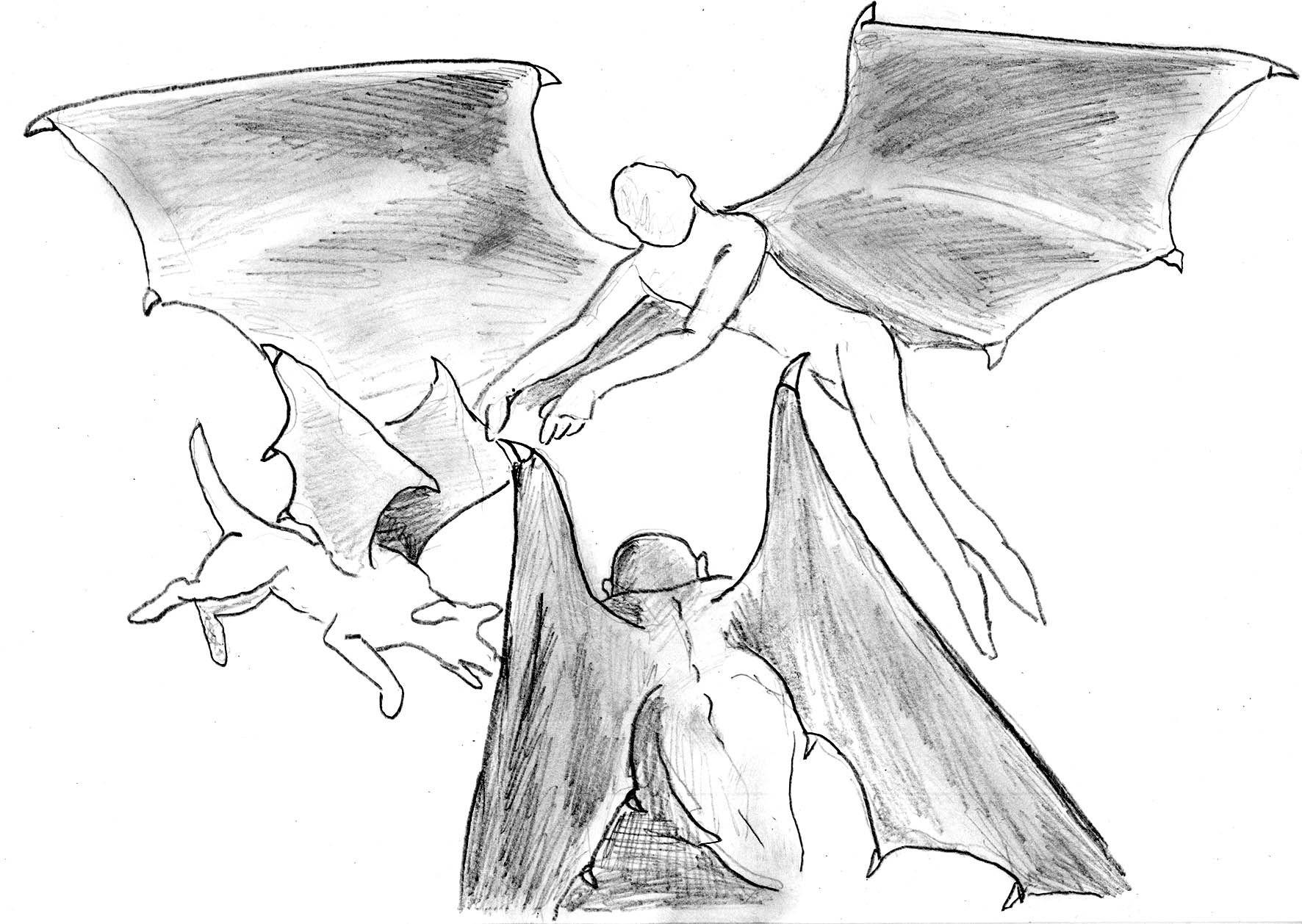 Загадка летающих людей