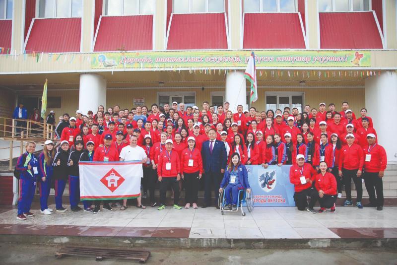 Сборная Якутска выиграла  местные олимпийские игры