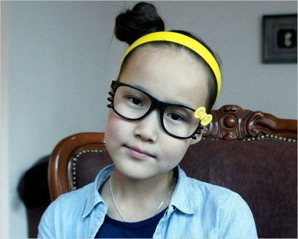 Настоящая якутская девочка
