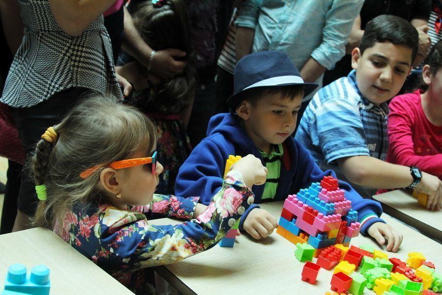 Дети - прирожденные архитекторы