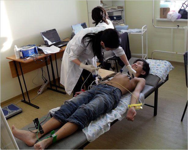 В Хатассах - профилактика здоровья