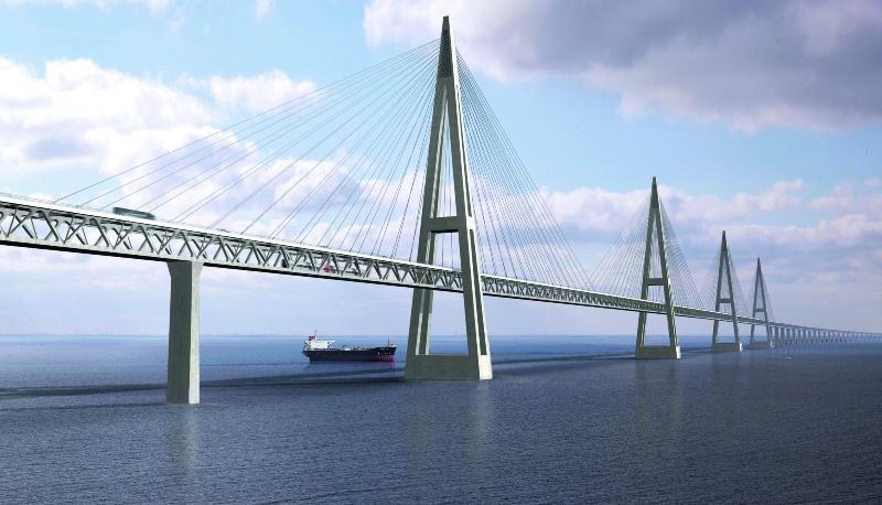 В каких условиях  будут строить мост