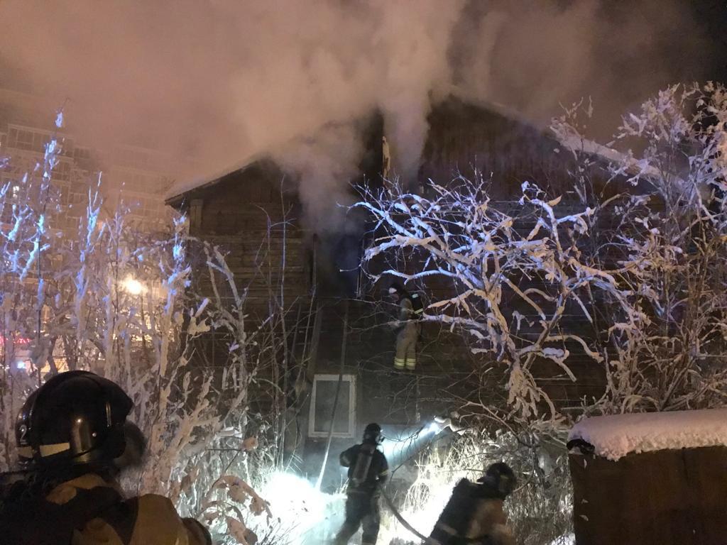 В Якутске в пожаре погибли люди