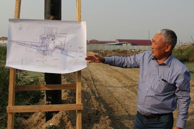 Строительство школы №18 выходит новый этап