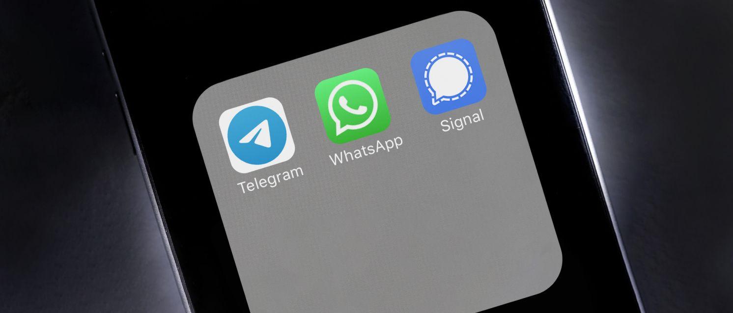 Эксперты о безопасности WhatsApp, Telegram и Signal