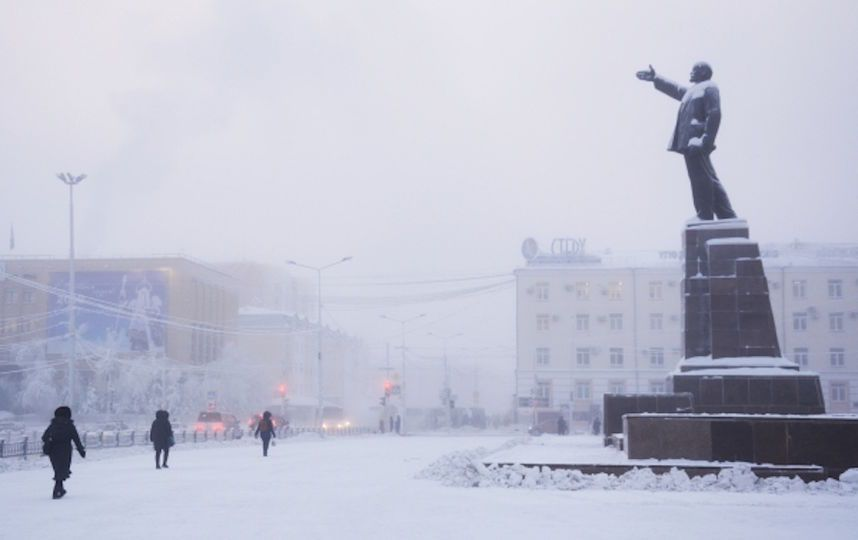 При установлении актированных дней в Якутске учитывается скорость ветра