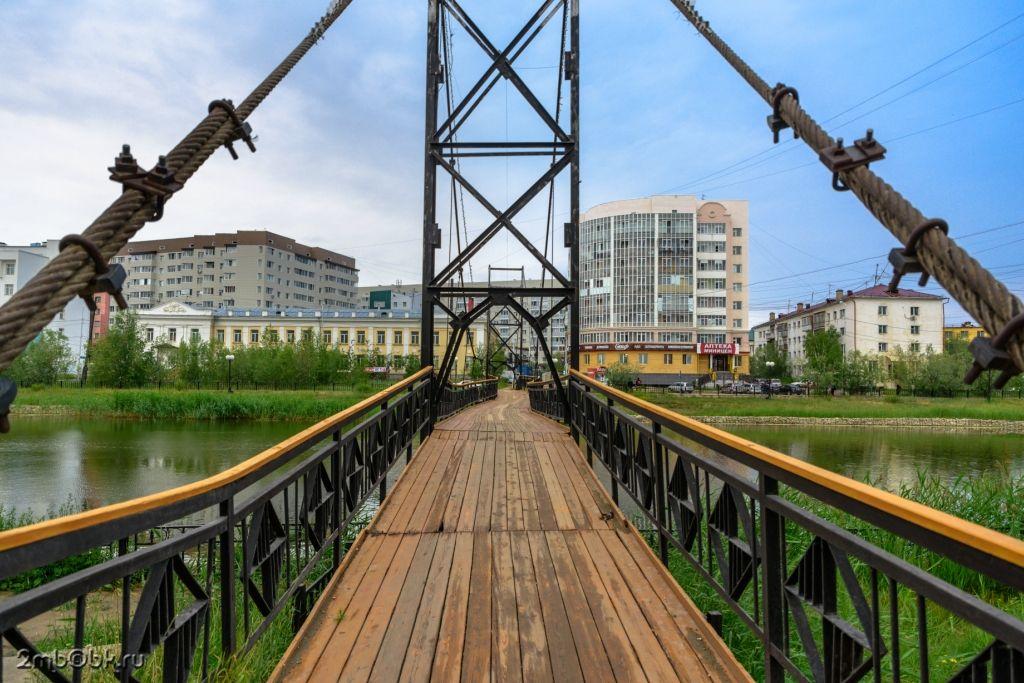 Мост на Теплом озере Якутска отремонтируют в апреле