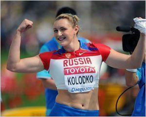Евгения Колодко выиграла бронзу Олимпийских игр в толкании ядра