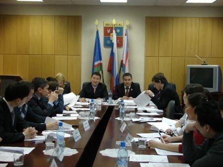 «Кадровая сессия» Молодежной палаты Якутска