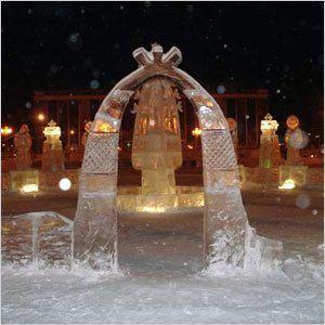 Приглашаем на конкурс ледовых скульптур!