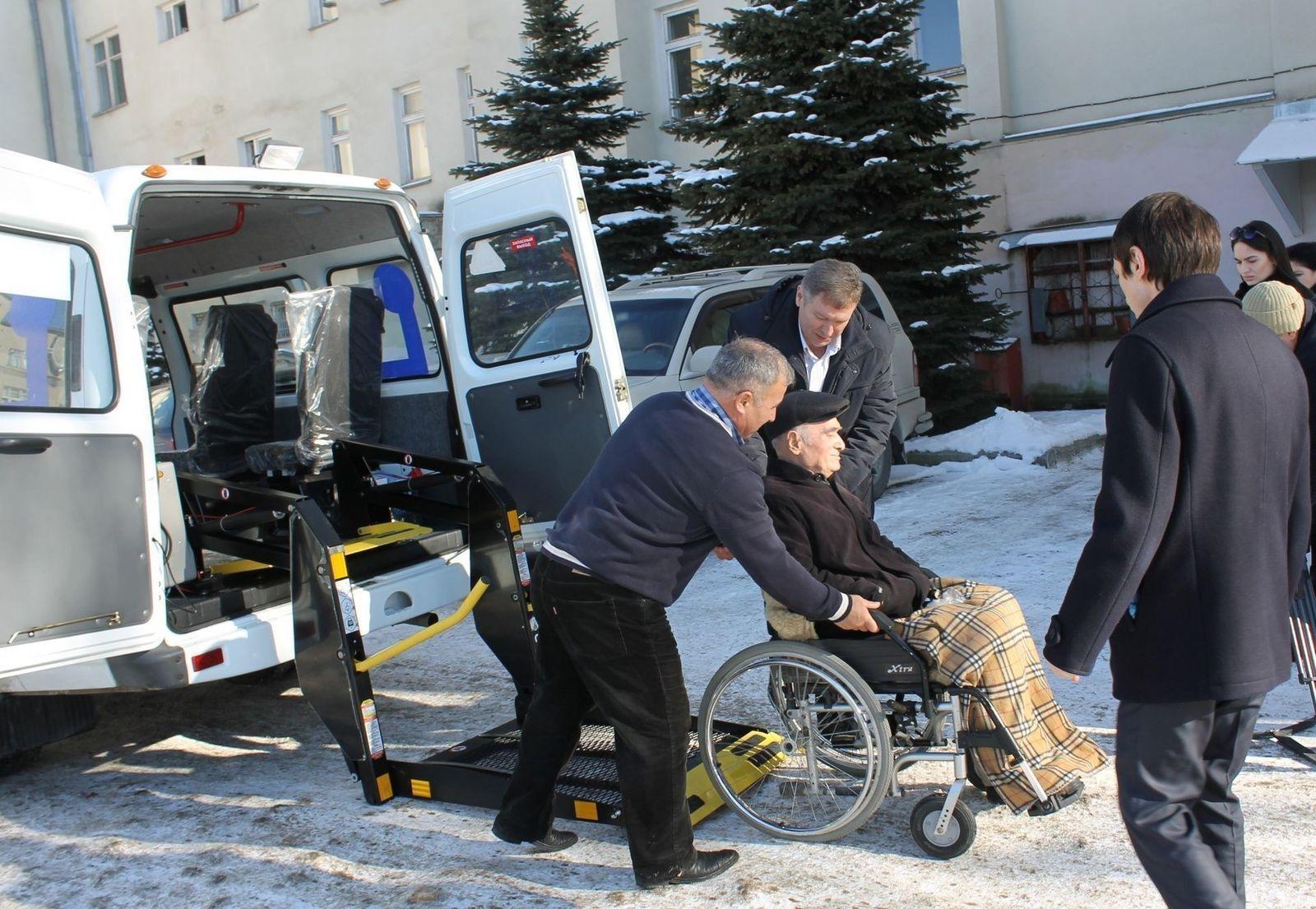 Верните инвалидам транспорт!