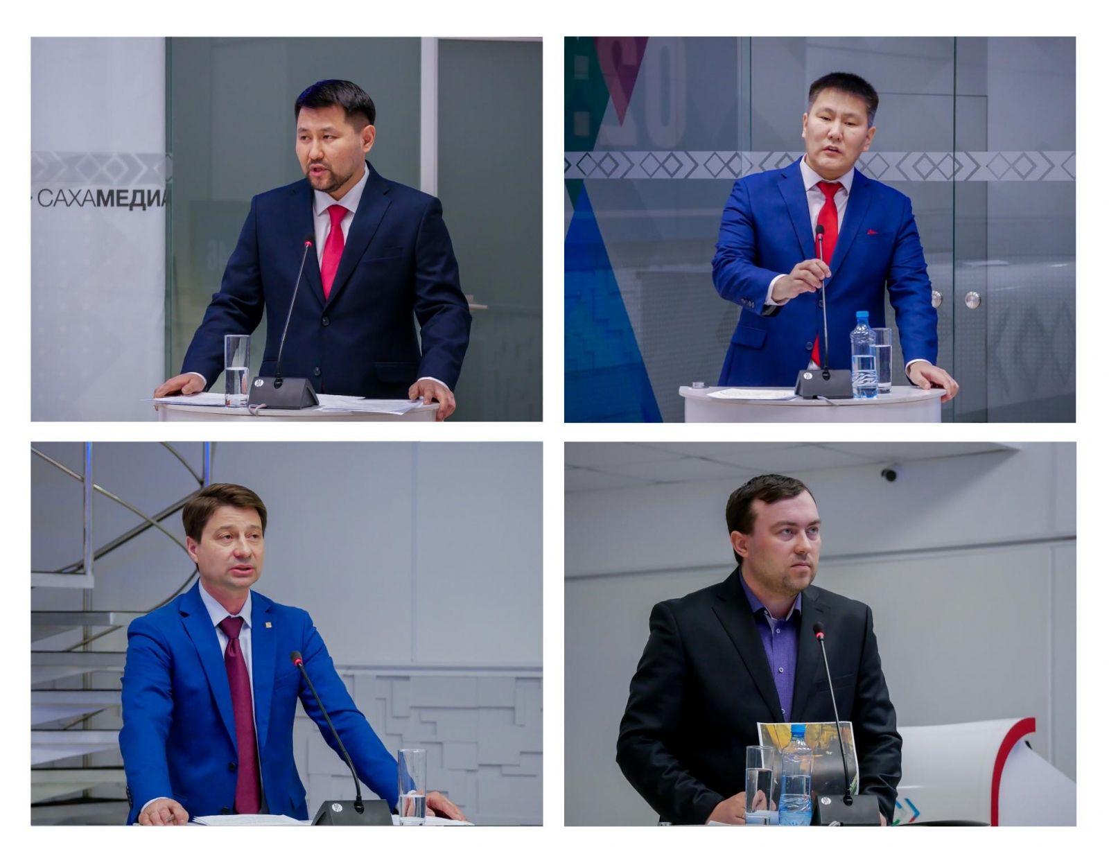 Дебаты «Сахамедиа»: кандидаты в мэры Якутска рассказали, как будут решать проблемы ЖКХ