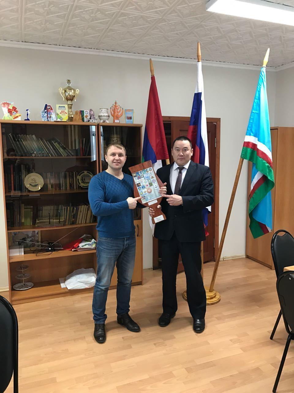 Якутск передал «Чорон добра» жителям села Бердигестях Горного района