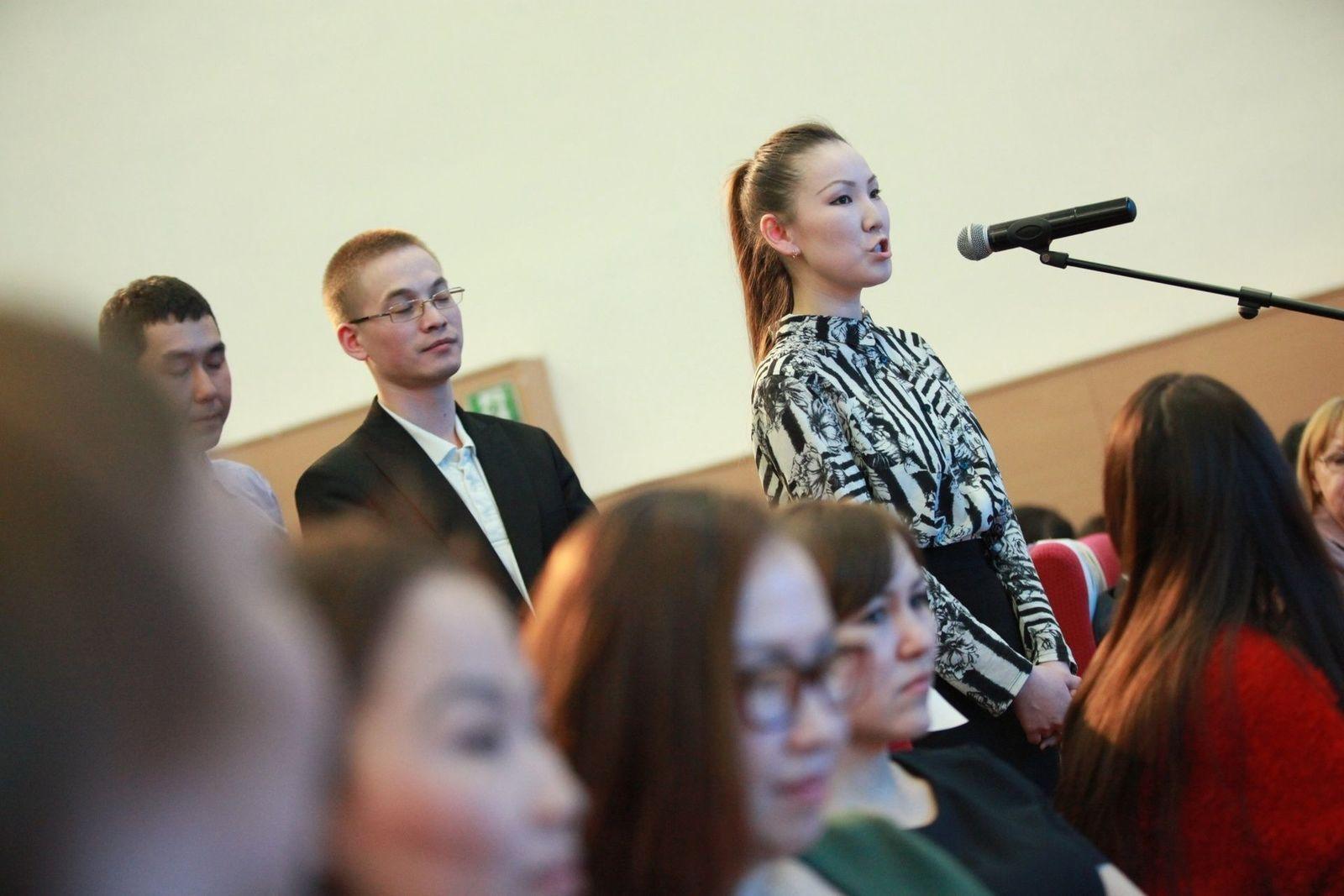 Егор Борисов встретился со студентами СВФУ