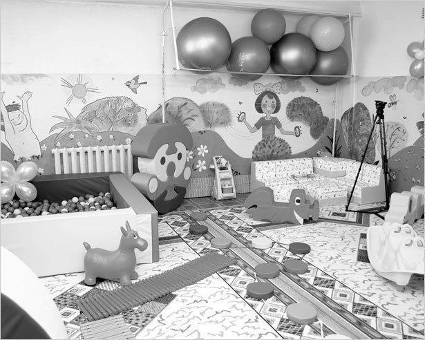 Открыта игровая комната в Хатасской больнице