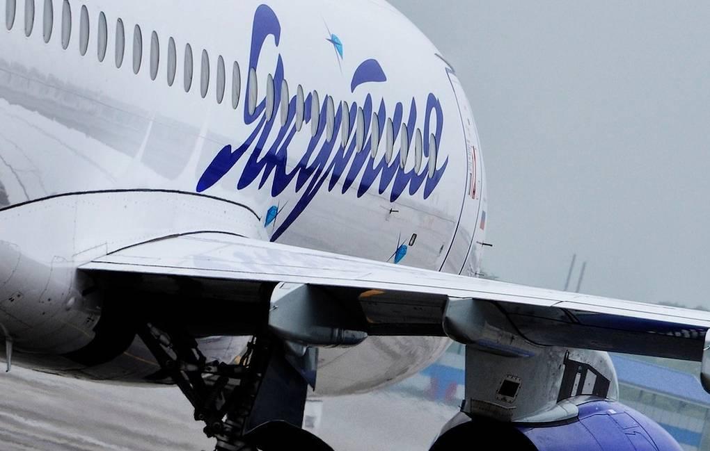Самолет «АК Якутия» в Москву, наконец, вылетел
