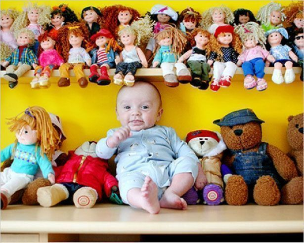 Бывает ли игрушек слишком много?