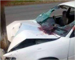 Пьяный водитель - несчастный пассажир