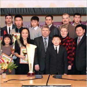 В Якутске отметили лучших спортсменов и активистов