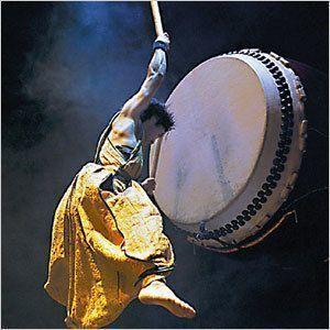 Японский барабанщик в Якутске