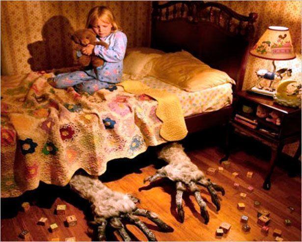 Чудище под кроватью, или как победить детские страхи?