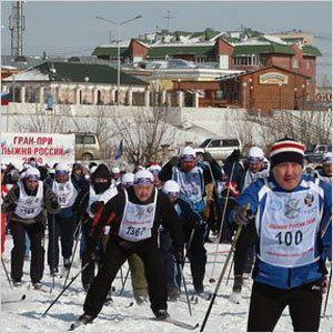 На лыжи встанем в апреле