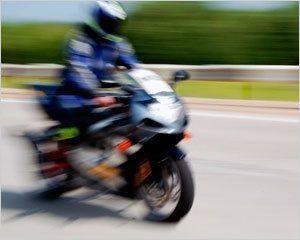 Смерть мотоциклиста