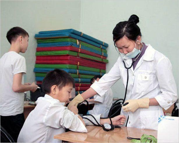 День детского здоровья в Магане