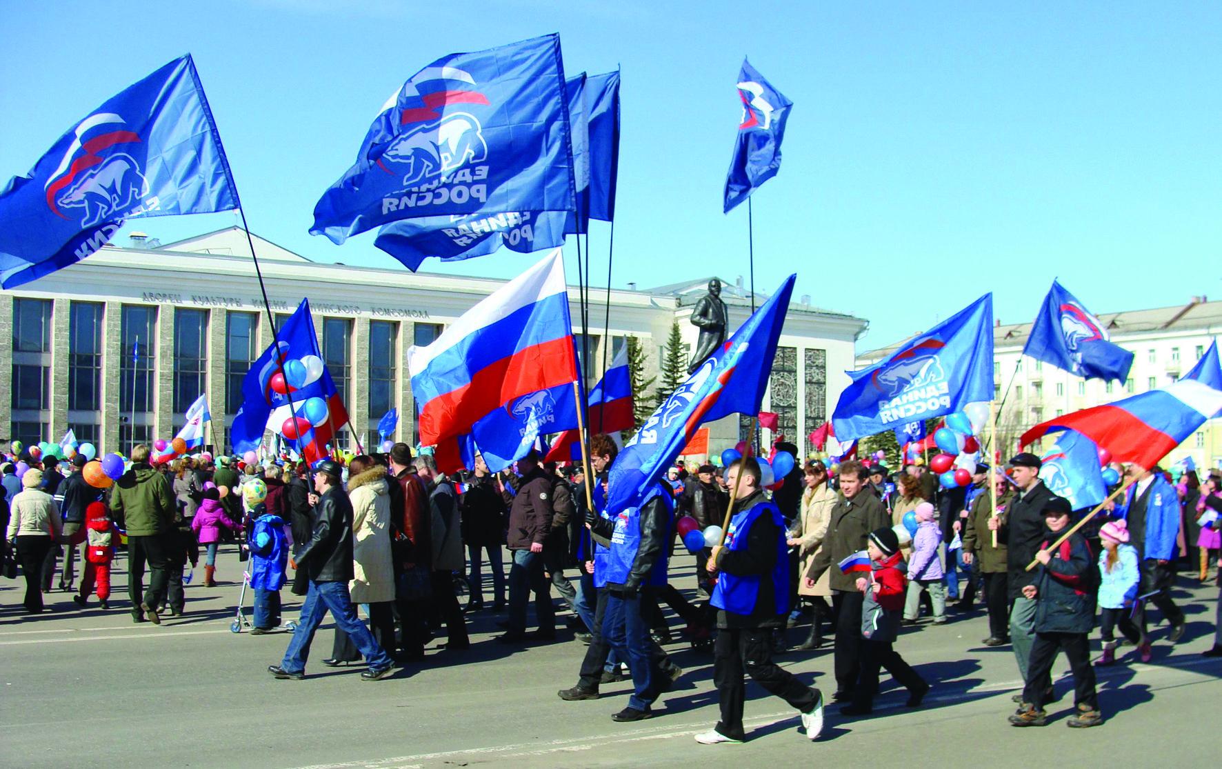 «Единая Россия» теснит коммунистов  на их поле