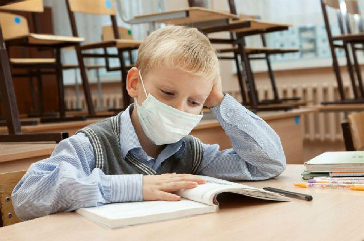 В Якутске более 800 школьников не учатся из-за ОРВИ