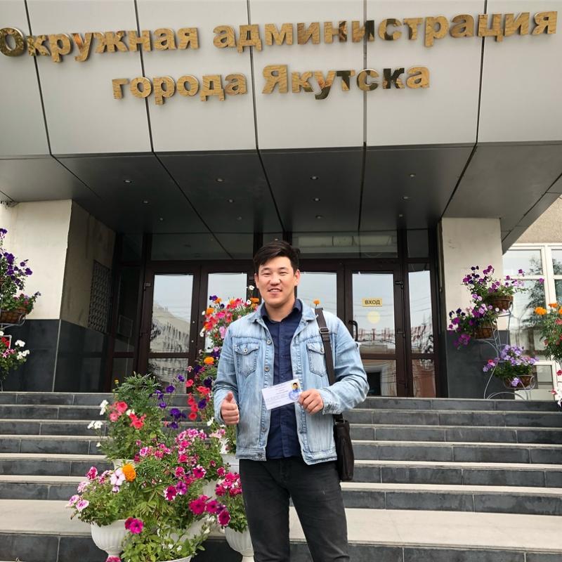 Алексей Осипов —  самый молодой депутат  в истории Якутска