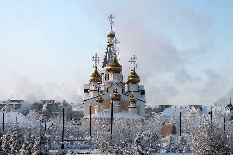 Роспотребнадзор проверил воду в церквях Якутска
