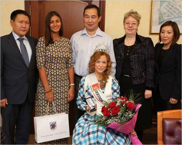 «Мисс мира»  посетила  Якутск