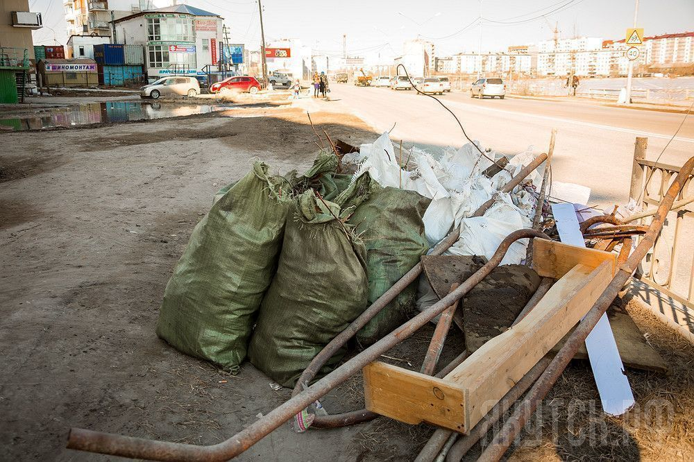 Благоустройство и санитарная очистка Октябрьского округа