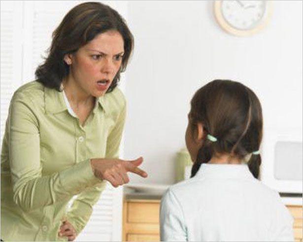 Родители и агрессия