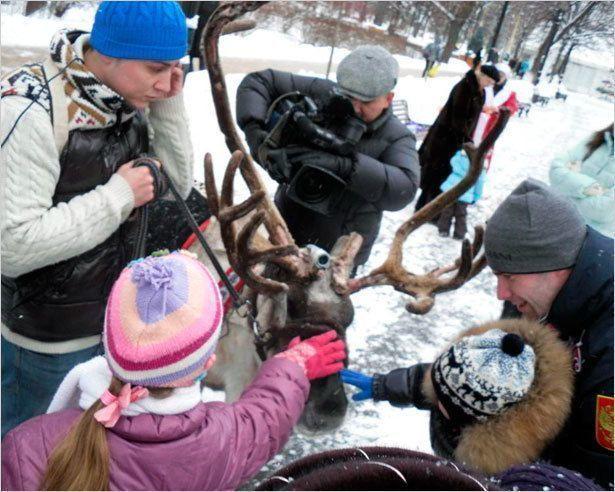 Якутский олень в Москве