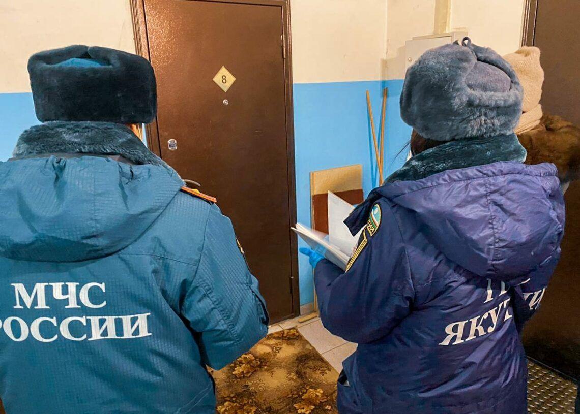 Жителям Якутска напоминают о правилах пожарной безопасности