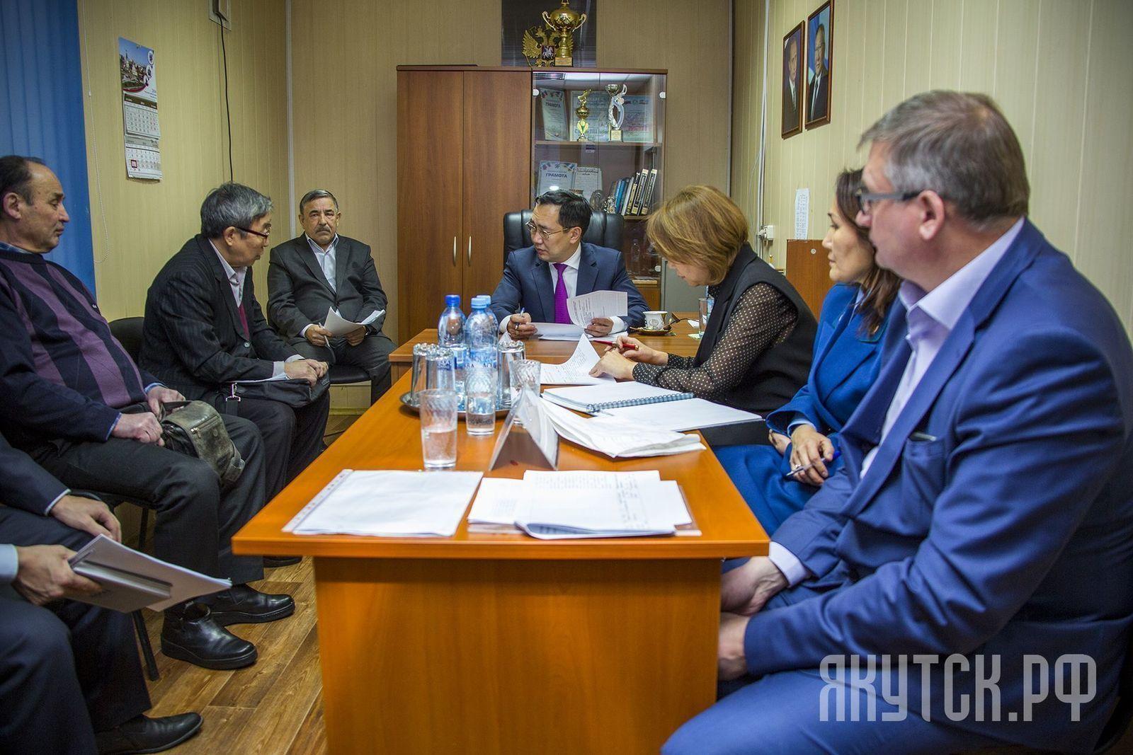 Айсен Николаев провел прием населения в Пригородном