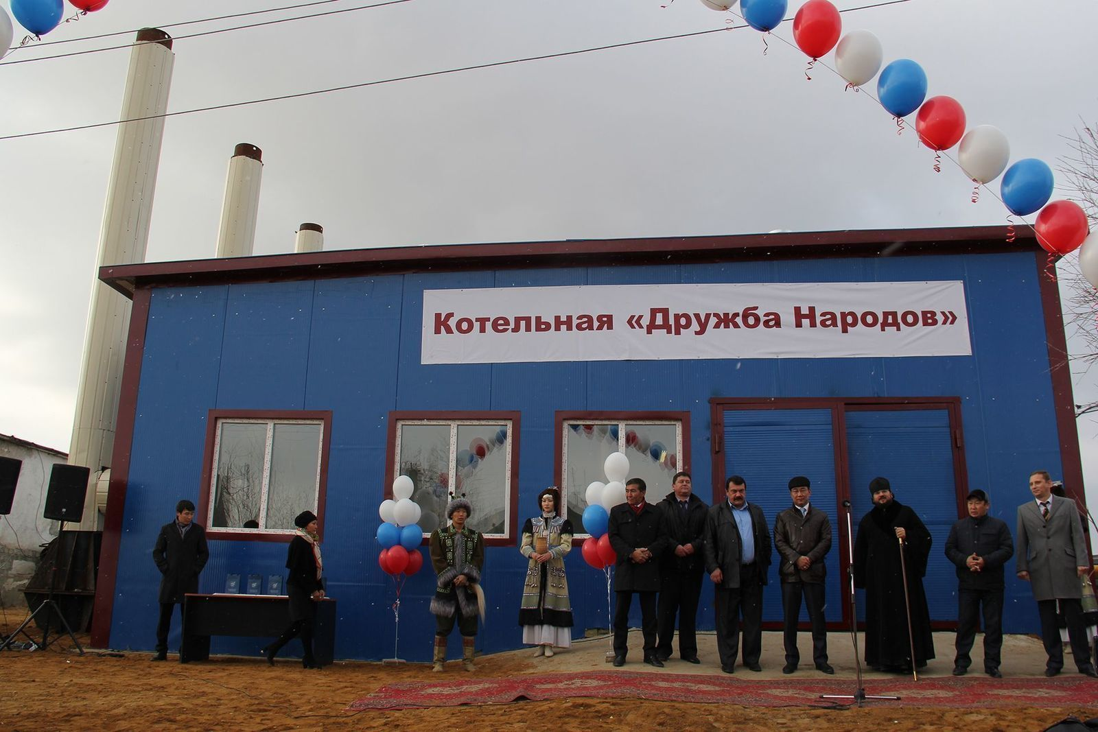 В Мархе открылась новая котельная