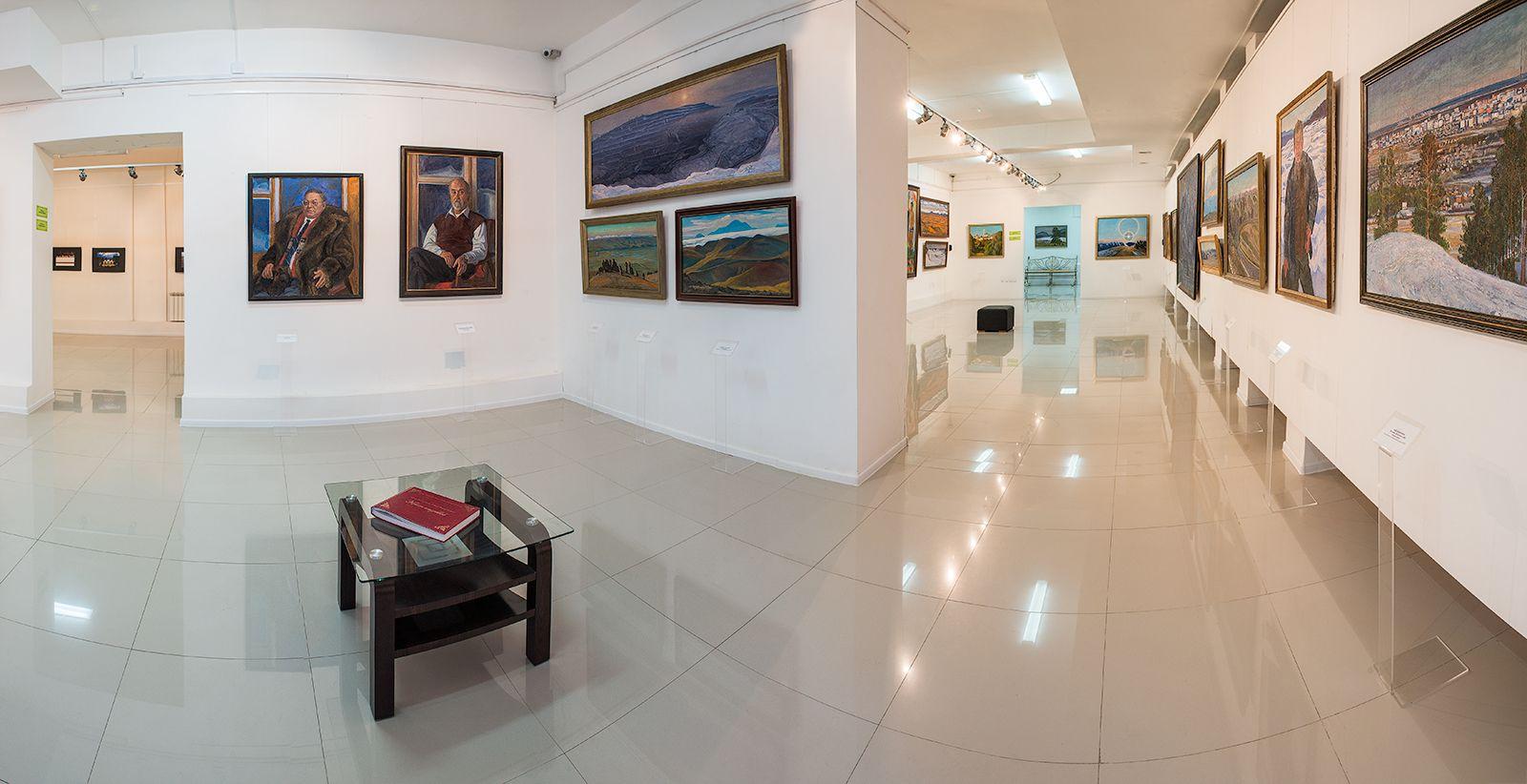 Картины Афанасия Осипова представлены в мобильном приложении «Артефакт»