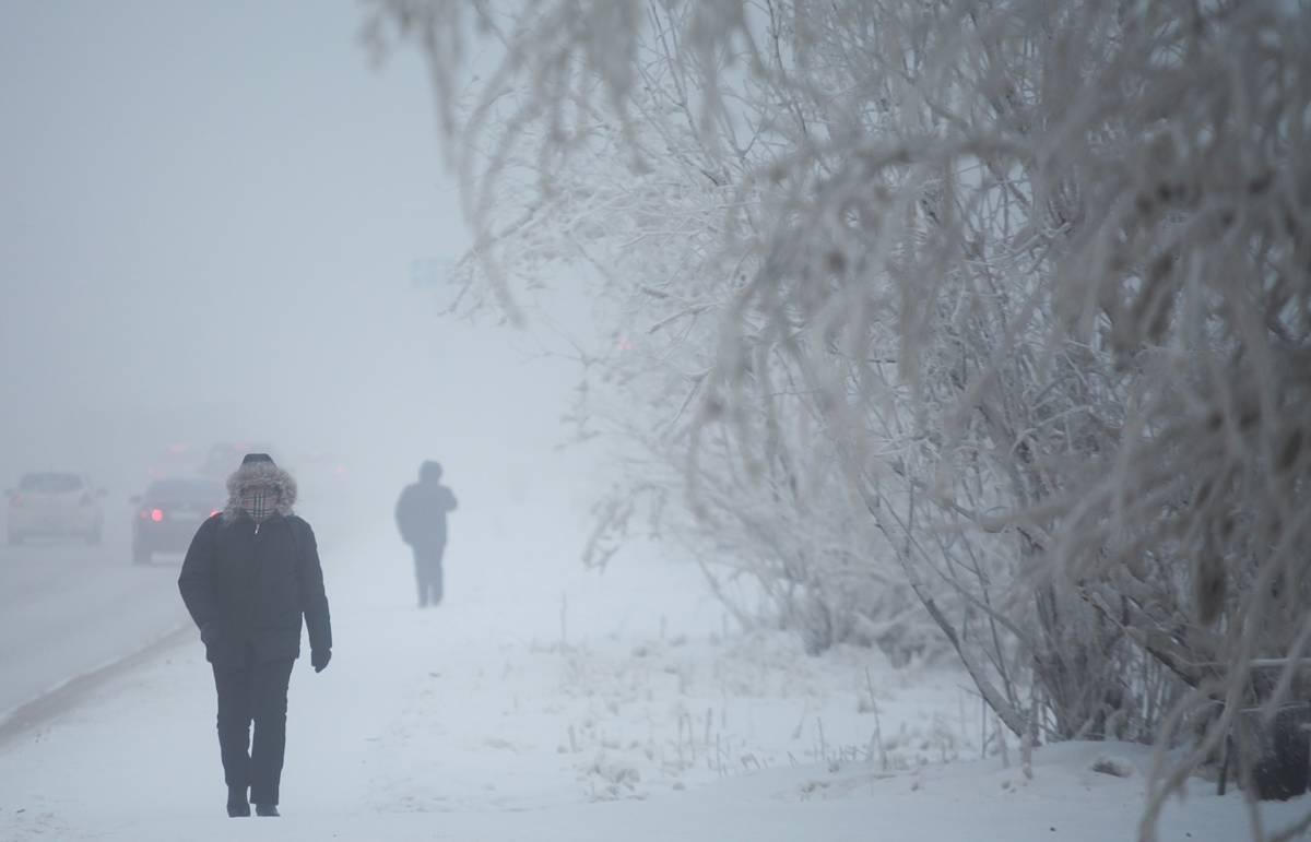 В Якутске более 100 человек получили обморожения