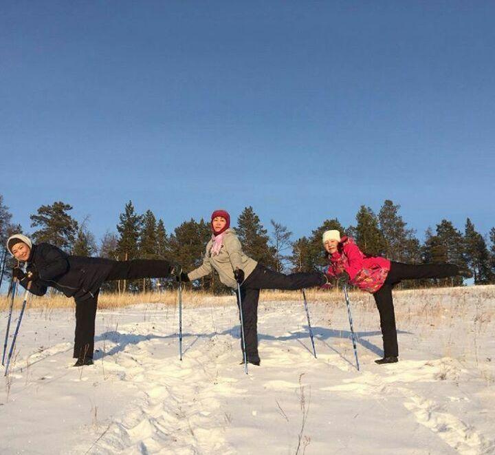 «Скандинавские ходоки» по-якутски