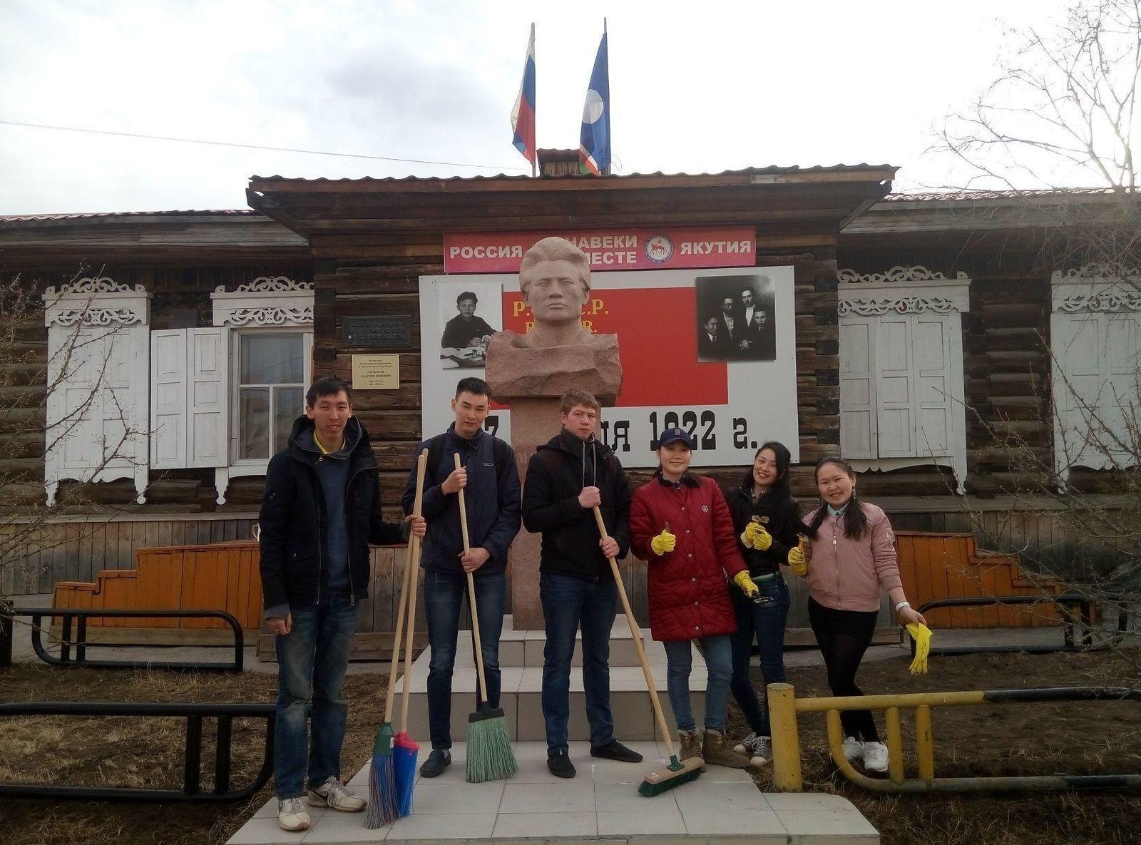 В Якутске стартовала акция «Помоги памятниками Отечества»
