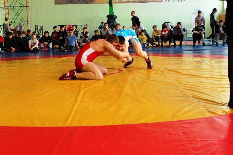 Октябрьский округ провел турнир по вольной борьбе