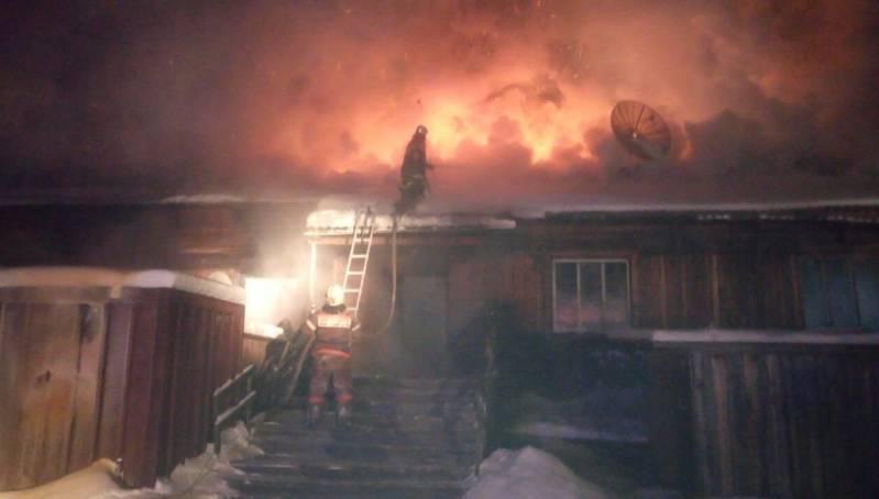 Пожар унес жизнь ребенка